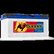 Banner Energy Bull 100 Ah jobb + munka akkumulátor