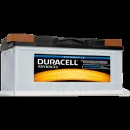 Duracell Advanced 100 AH Jobb+  DA100
