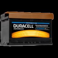 Duracell Advanced 74 AH Jobb+  DA74