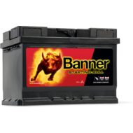 Banner Starting Bull 55 Ah jobb+ 55519 akkumulátor