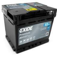 EXIDE Premium 53 Ah jobb+ EA530 akkumulátor