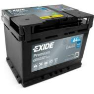 EXIDE Premium 64 Ah jobb+ EA640 akkumulátor