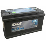 EXIDE Premium 100 Ah jobb+ EA1000