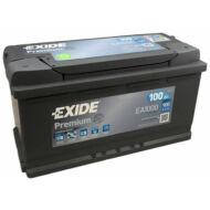 EXIDE Premium 100 Ah jobb+ EA1000 akkumulátor
