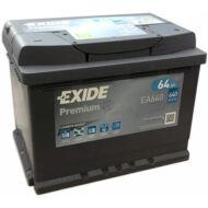 EXIDE Premium 64 Ah jobb+ EA640