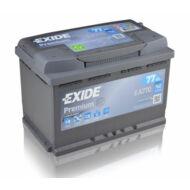 EXIDE Premium 77 Ah jobb+ EA770 akkumulátor