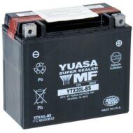 YUASA 12V 18 Ah YTX20L-BS jobb+ AGM