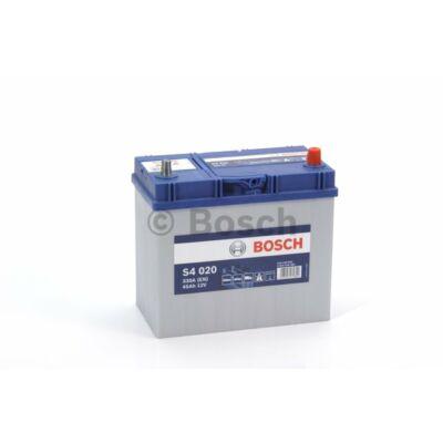 Bosch S4 45 Ah jobb+ (vékony sarus) 0092S40200