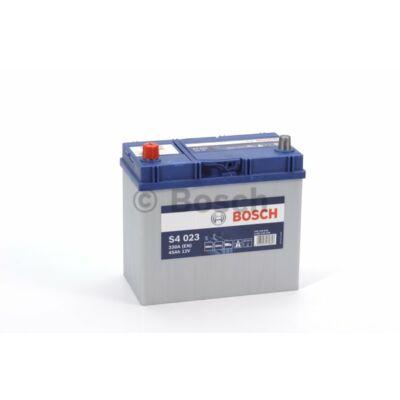 Bosch S4 45 Ah bal+ 0092S40230 akkumulátor