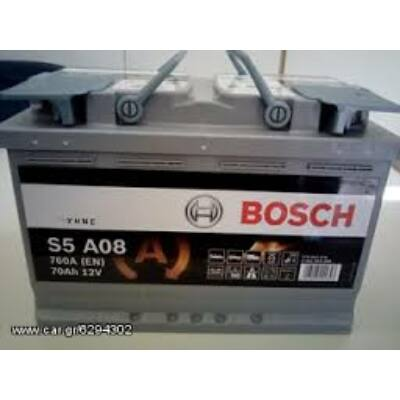 Bosch S5 70Ah AGM 0092S5A080 akkumulátor