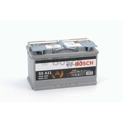 Bosch S5 80 Ah AGM 0092S5A110
