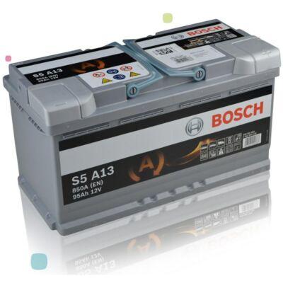 Bosch S5 95Ah AGM jobb+ 0092S5A130 akkumulátor