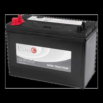 Dynac 24DC 80Ah Bal+ munka akkumulátor