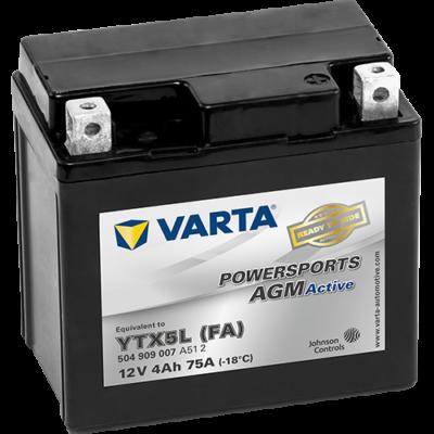 Varta Powersports AGM Active 4 Ah YTX5L-4 akkumulátor