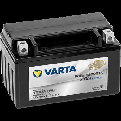 Varta Powersports AGM Active 6 Ah YTX7A-4 akkumulátor