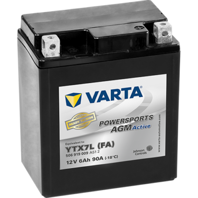 Varta Powersports AGM Active 6 Ah YTX7L-4 akkumulátor