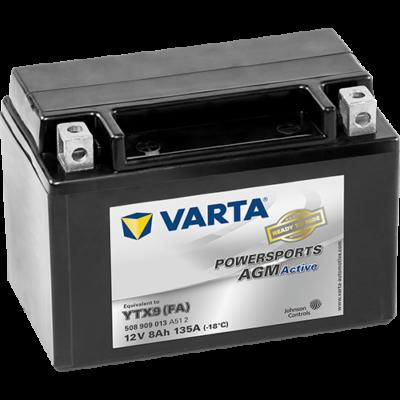 Varta Powersports AGM Active 8 Ah YTX9-4 akkumulátor