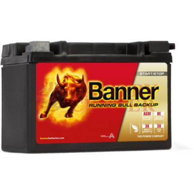Banner Running Bull Back Up 12V 9Ah Bal+