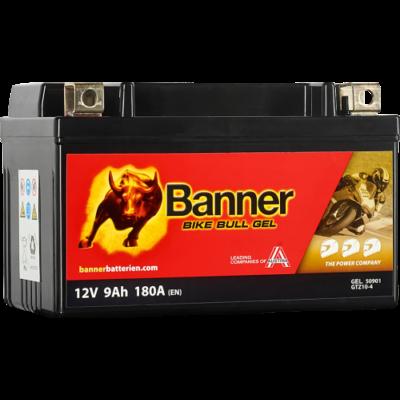 Banner Bike Bull GEL AGM+SLA 12 V 9 Ah  ( GTZ10-4 ) akkumulátor