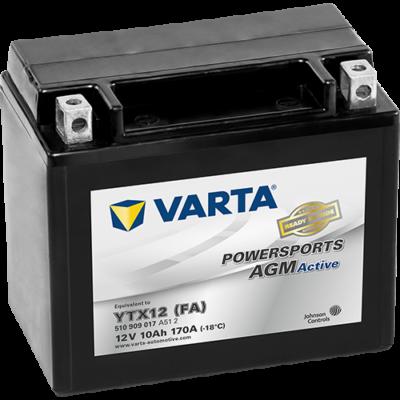 Varta Powersports AGM Active 10 Ah YTX12-4 akkumulátor