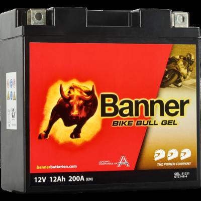 Banner Bike Bull GEL AGM+SLA 12 V 12 Ah  (GTZ14B-4 ) akkumulátor