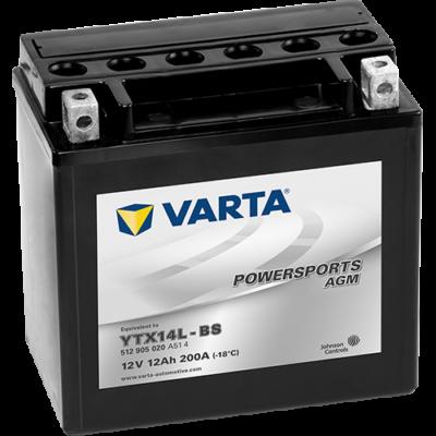 Varta Powersports AGM High Performance 12 Ah  ( YTX14L-BS ) akkumulátor