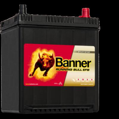 Banner Running Bull EFB 38 Ah jobb+ (vékony sarus) 53815 akkumulátor