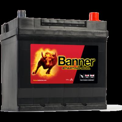 Banner Starting Bull 45 Ah jobb+ 54577 akkumulátor