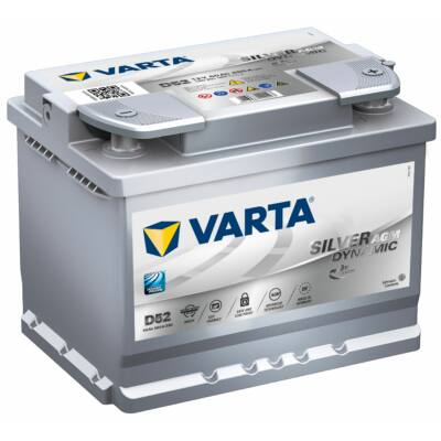 Varta Start-Stop AGM 60 Ah jobb+ 560901068D852