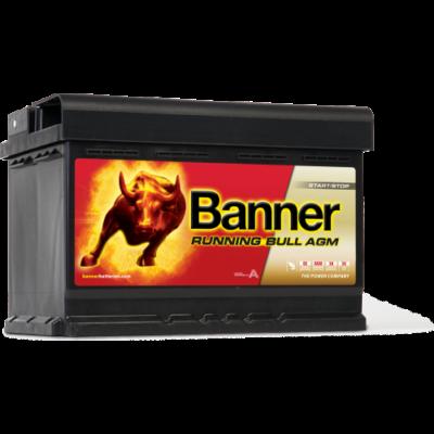 Banner Running Bull 70 Ah jobb+ 57001