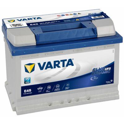 Varta Blue Dynamic EFB 65 Ah jobb+ 565500065D842 akkumulátor