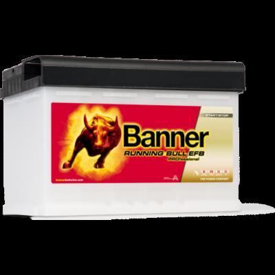 Banner Running Bull EFB PRO 75 Ah jobb+ 57511 akkumulátor