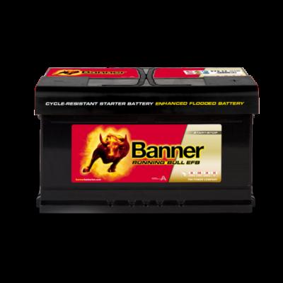 Banner Running Bull EFB 75 Ah jobb+ 57512 akkumulátor