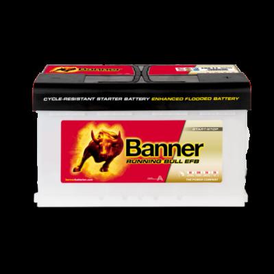 Banner Running Bull EFB 80 Ah jobb+ 58011