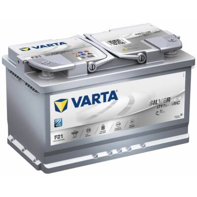 Varta Start-Stop AGM 80 Ah jobb+ 580901080D852