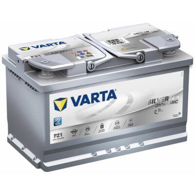 Varta Start-Stop AGM 80 Ah jobb+ 580901080D852 akkumulátor