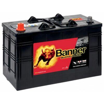 Banner Buffalo Bull 110 Ah bal + akkumulátor