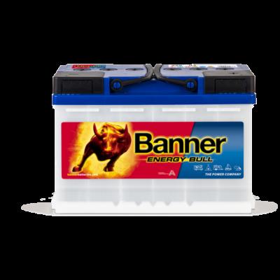 Banner Energy Bull 80 Ah jobb + munka akkumulátor