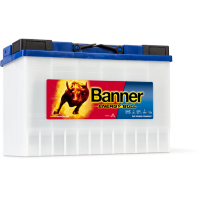 Banner Energy Bull 115 Ah jobb + akkumulátor