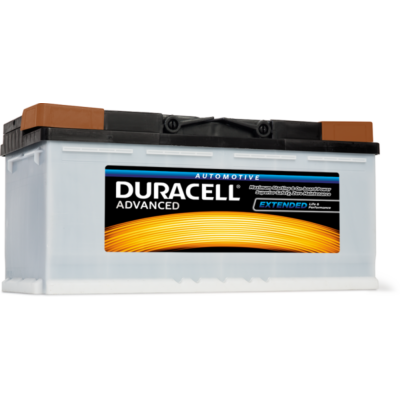 Duracell Advanced 100 AH Jobb+  DA100 akkumulátor
