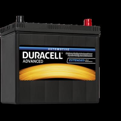 Duracell Advanced 45 AH Jobb+ (vékony sarus) DA45