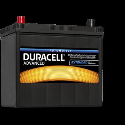 Duracell Advanced 45 AH Bal+ (vékony sarus) DA45L