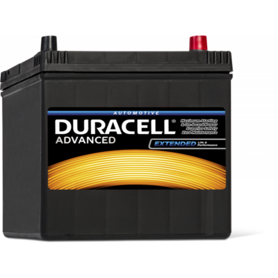 Duracell Advanced 60 AH Jobb+  DA60 akkumulátor