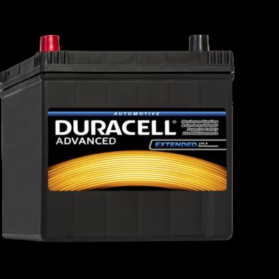 Duracell Advanced 60 AH Bal+  DA60L akkumulátor
