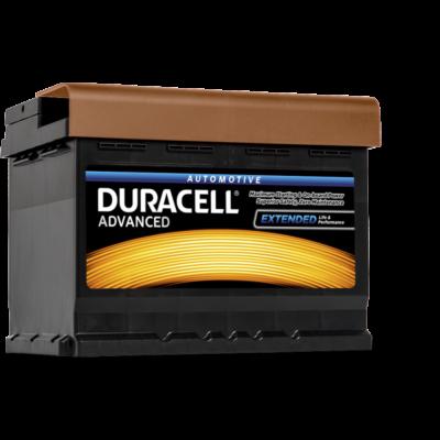 Duracell Advanced 60 AH Jobb+  DA60T