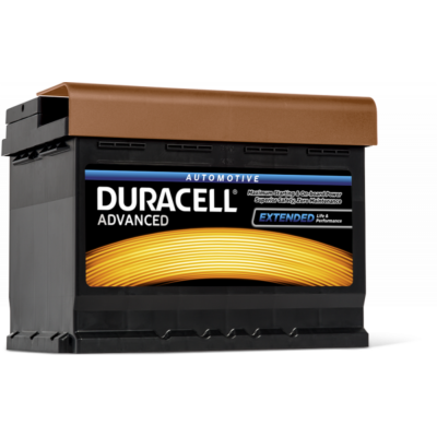 Duracell Advanced 62 AH Jobb+  DA62H