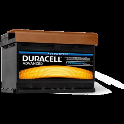 Duracell Advanced 72 AH Jobb+  DA72 akkumulátor