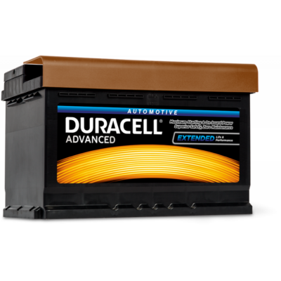 Duracell Advanced 74 AH Jobb+  DA74