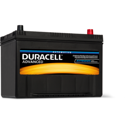 Duracell Advanced 95 AH Jobb+  DA95 akkumulátor