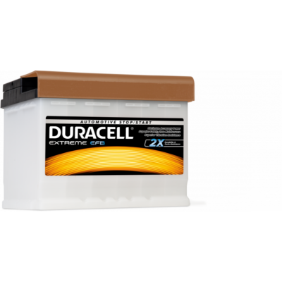 Duracell Extreme EFB 60 AH Jobb+  DE60EFB